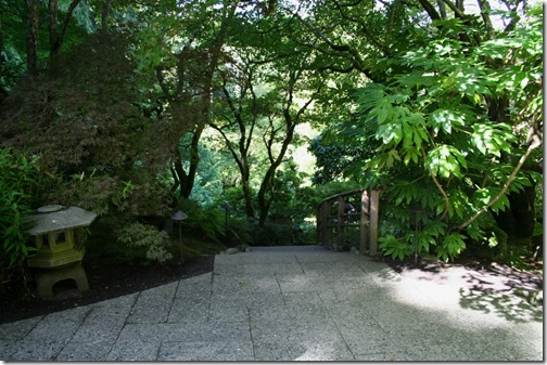 Entrance to the Japanese Garden. Photo credit: Jean Potuchek
