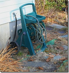 Hose on reel (photo credit: Jean Potuchek)
