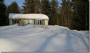 My house in snow - 2008 (photo credit: Jean Potuchek)