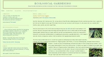 Ecological Gardening screenshot