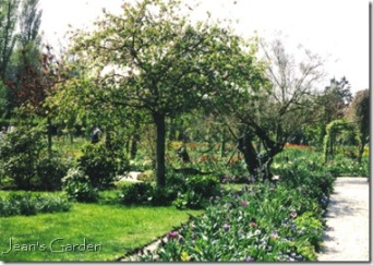 Monet's garden at Giverny (photo credit: Jean Potuchek)