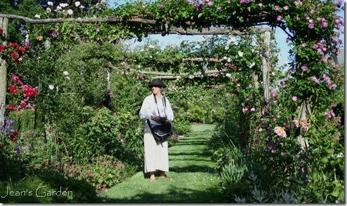 Carol at Capen Garden (photo credit: Jean Potuchek)