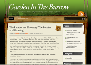 Garden in the Burrow screenshot