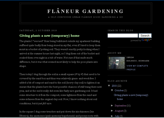 Screenshot - Flaneur Gardening