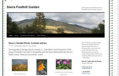 Sierra Foothill Garden screenshot