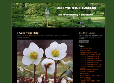 screenshot - Carolyn's Shade Gardens