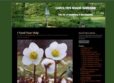 screenshot - Carolyn's Shade Gardens