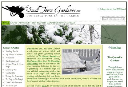 screenshot - The Small Town Gardener