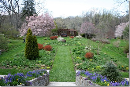 Tennis Court Garden at Chanticleer (photo credit: Jean Potuchek)