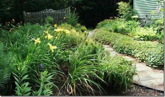 The back garden at peak (photo credit: Jean Potuchek)