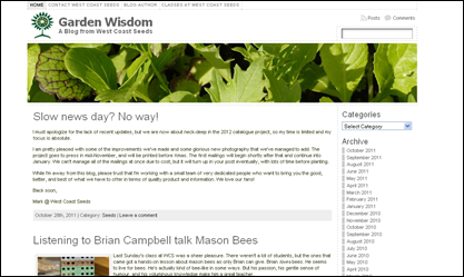 screenshot - Garden Wisdom