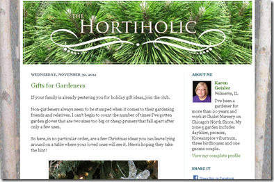 screenshot - The Hortiholic