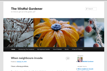 screenshot - The Wistful Gardener