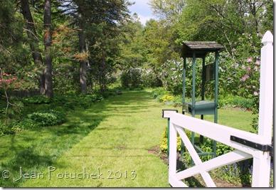 MclLaughlin lilacs gate