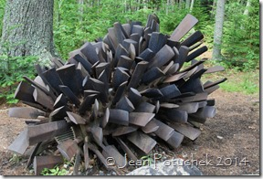 pinecone sculpture
