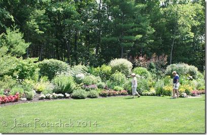 Hudson garden wide view