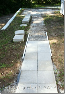 hardscape patio walkway