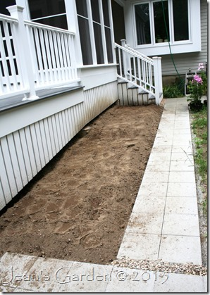 porch border dug