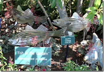 garden fish art
