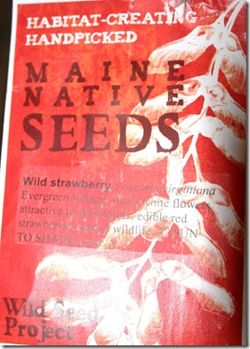 wild seed packet