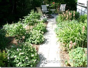 entrance garden June
