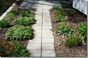 entry garden new growth